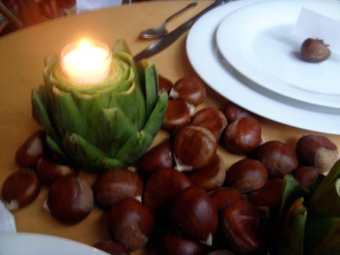 artichoke votive