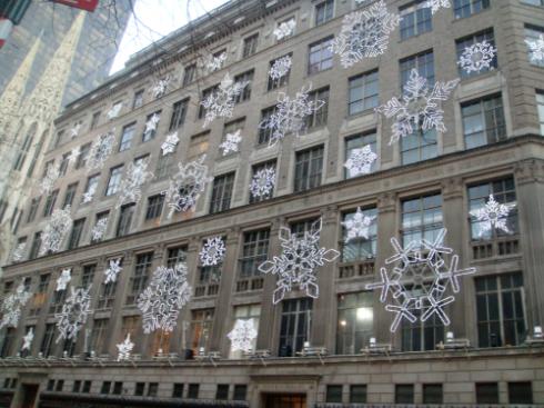 Saks Fifth Avenue Snowlakes