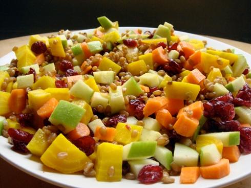 wheatberrysalad