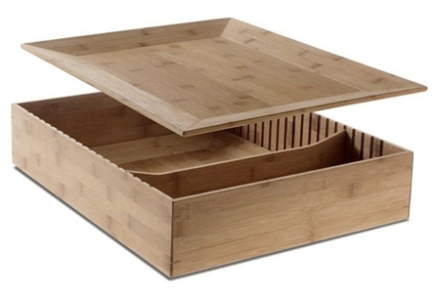 alessi-bamboo box with lidded tray