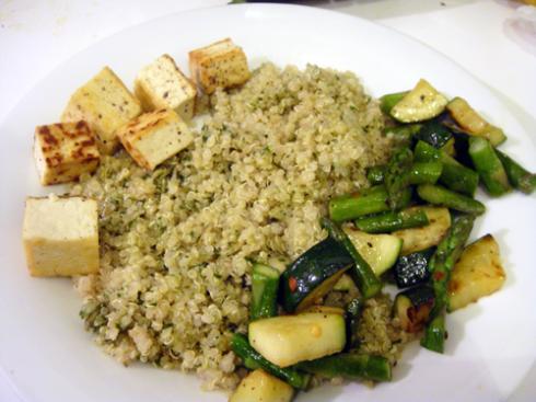 quinoa-asparagus-zucchini-tofu