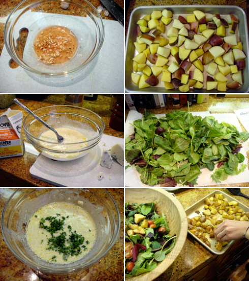 roasted-potato-salad