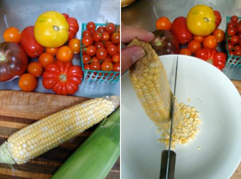 Corn and Tomatoes