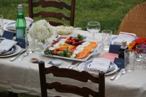 More dinner party table setting