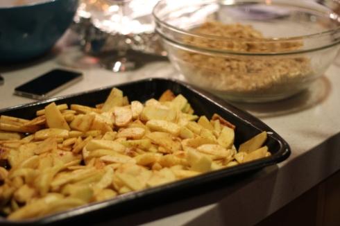 Apple Crisp from Sonoma Weenend