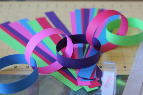 Making Paper Chains
