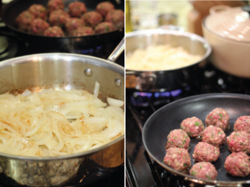 onions-and-meatballs