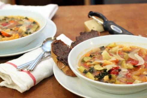 100 Vegetable Soup