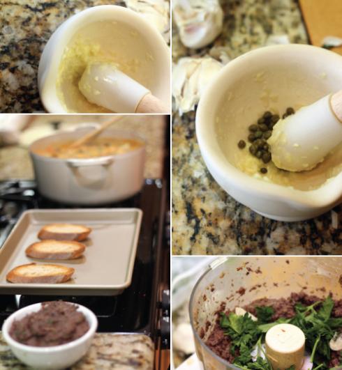 Making-Tapanade