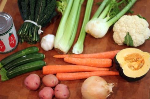 loads o'veggies