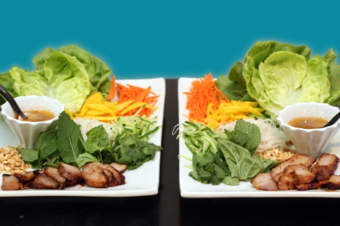 Spicy Pork Lettuce Wraps