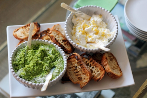 Pea-Puree-and-Ricotta