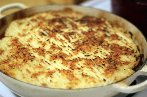 Shepherd's Pie with Cauliflower