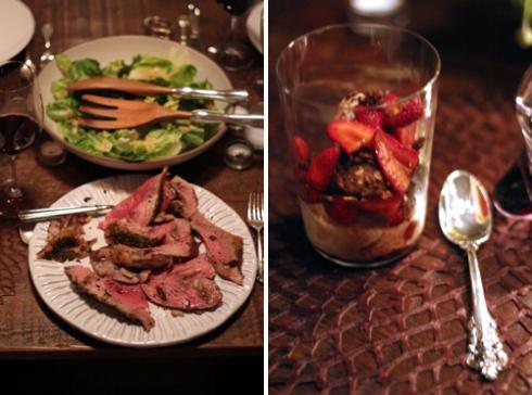 Spring-Dinner
