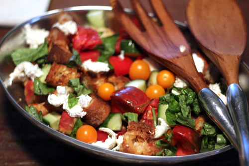 Heirloom Panzanella