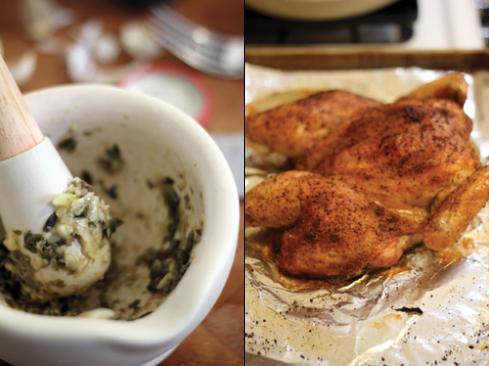 Spatchcock-Chicken-and-Salsa-Verde