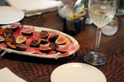 Grilled Figs & Proscuitto