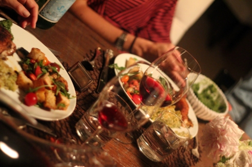 Girls-Night Dinner at home