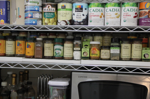 Alphabetized Spices