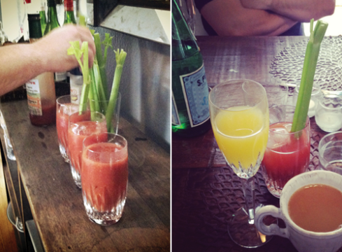 Brunch-beverages