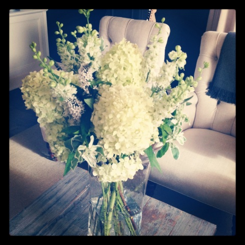 Flowers for the host