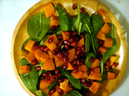 persimmon-and-pomegranate-salad