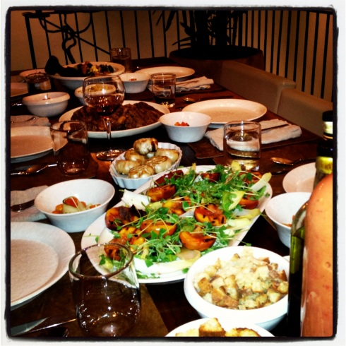 Feast with friends