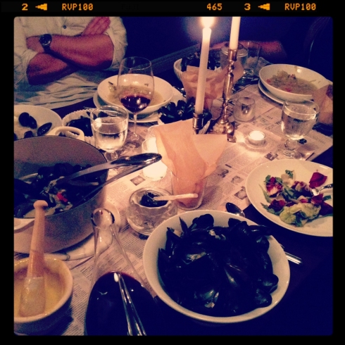 Moules Frites at home